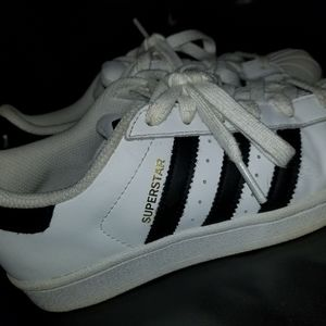 SuperStar white Adidas shoes